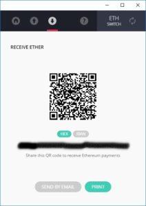 QR Code nano S ledger Wallet