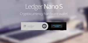 Ledget Nanos S Crypto currency wallet device phisycal