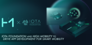 IOTA Foundation and HIGH MOBILITY to Drive App Development for Smart Mobility