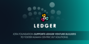 IOTA Foundation supports LEDGER venture builders to foster human centric DLT solutions.