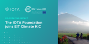 Co-Creating Impact: The IOTA Foundation joins forces with EIT Climate KIC