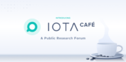 Introducing IOTA.cafe: A Public Research Forum