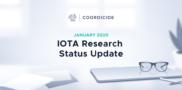 IOTA Research Status Update