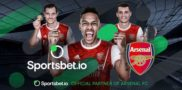 Arsenal FC Signs 3-year Betting Partnership with Sportsbet.io